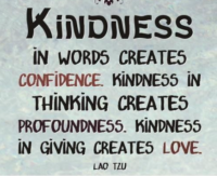 So What is Kindness?