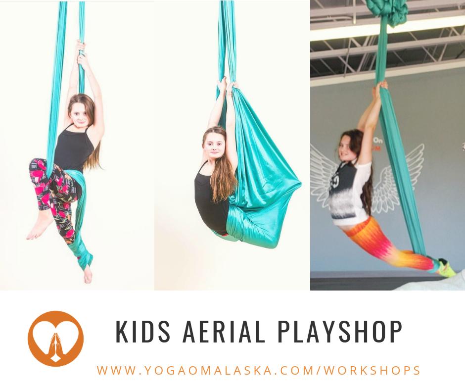 Kids Aerial Playshop (Age 7-12)