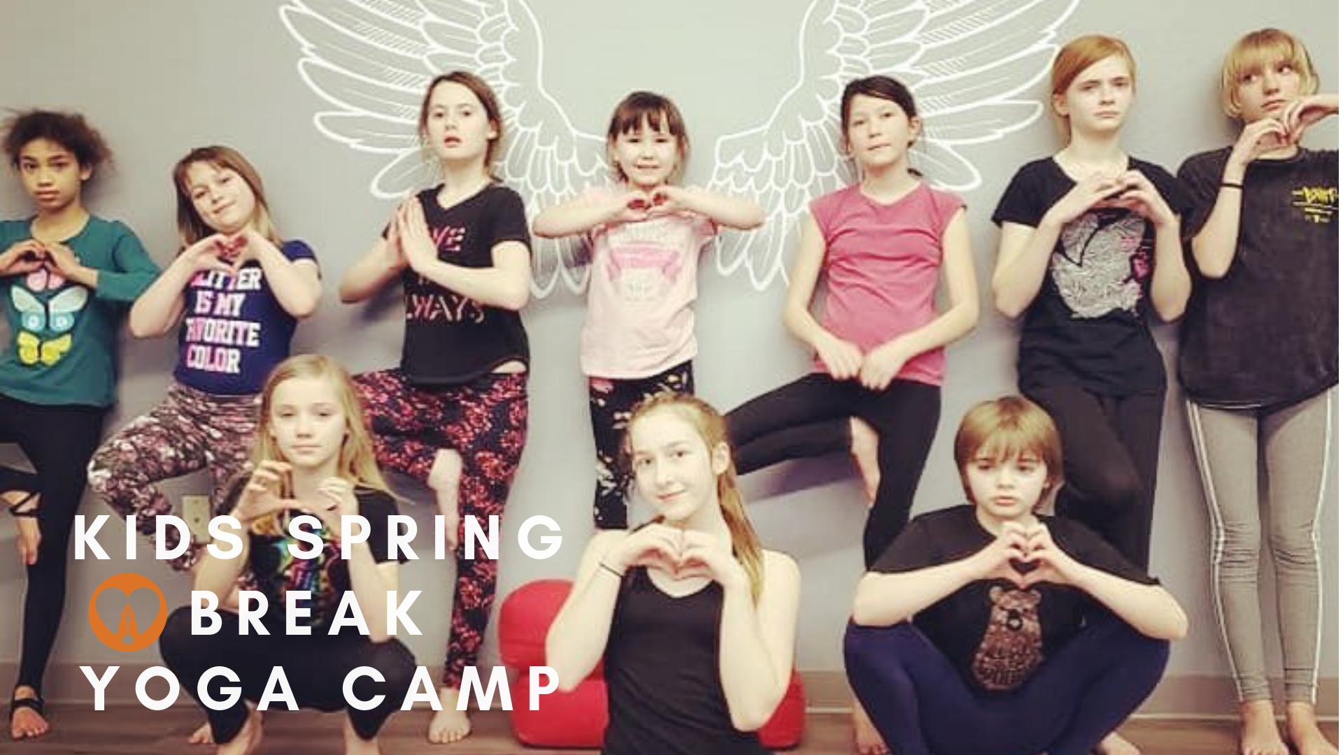Kids Spring Break Yoga Camp