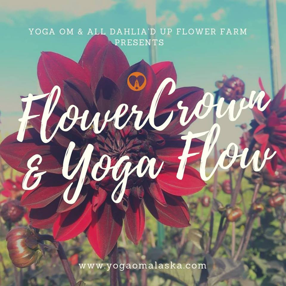 FLOWER CROWN AND YOGA FLOW